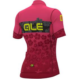 Alé Cycling PRS Ibisco SS Jersey Women prune-flou pink